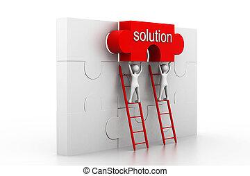 Concepto de solución