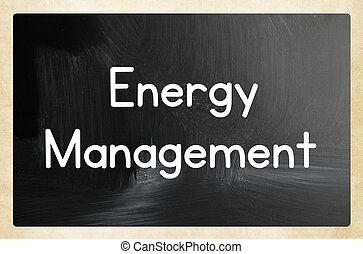 concepto, dirección, energía