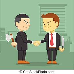 concepto, empresa / negocio, competición