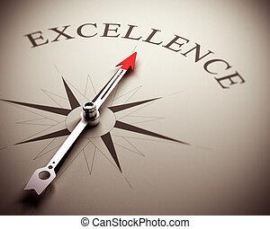 concepto, excelencia, empresa / negocio