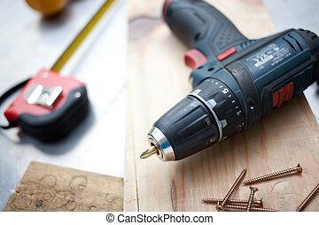 concepto, herramientas, diy