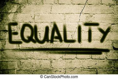 concepto, igualdad