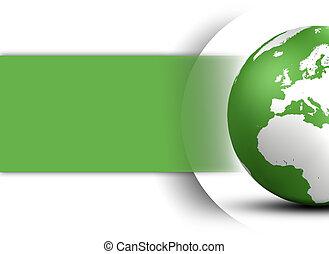Concepto mundial de diseño