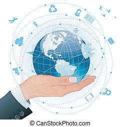 Concepto: negocios globales