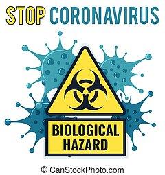 concepto, parada, 2019-ncov, coronavirus