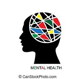 concepto, salud mental