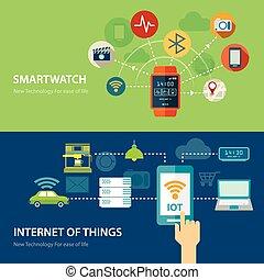 Conceptos para vigilancia inteligente e Internet de cosas planas