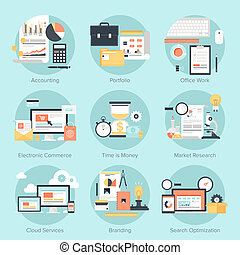 concepts., empresa / negocio