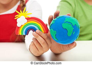 Conciencia ambiental y concepto de educación