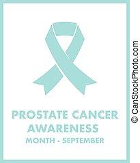 Conciencia de cáncer de próstata