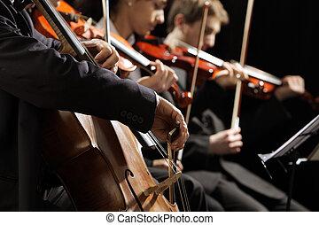 concierto música, clásico