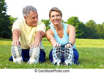 condición física, seniors