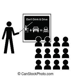 Conducir bebida