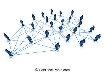 conectado, gente