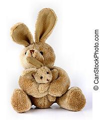 Conejo conejito de juguete