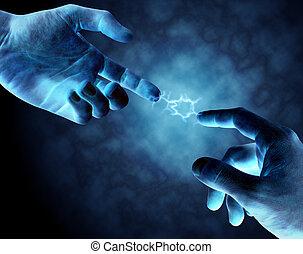 conexión, fuerte