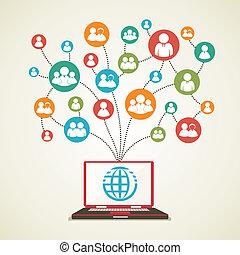 Conexión global con la gente