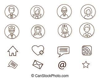 Conexiones de los medios sociales