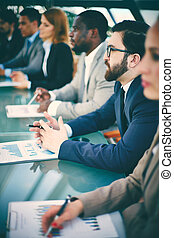 Conferencia para gente de negocios