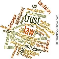 confianza, ley