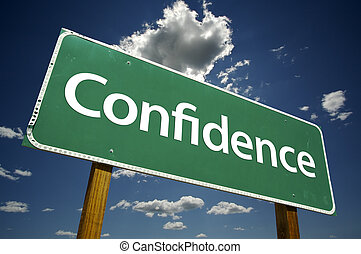 confianza, muestra del camino
