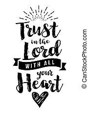 confianza, todos, corazón, señor, su