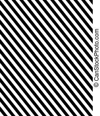configuración diagonal, líneas