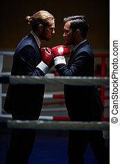 Conflicto de socios de negocios