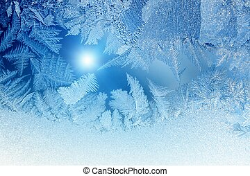 congelado, ventana