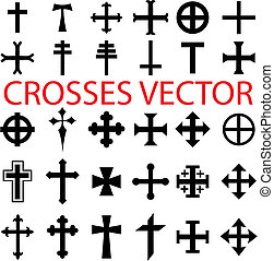 conjunto, cruces