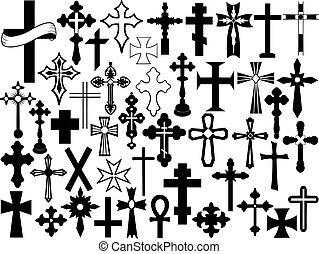 conjunto, cruz