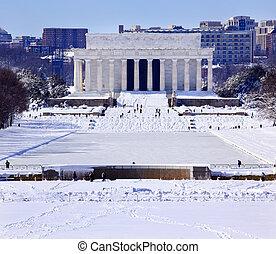Conmemoración de Lincoln después de Washington