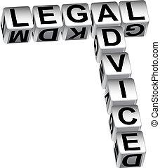 consejo, dados, legal