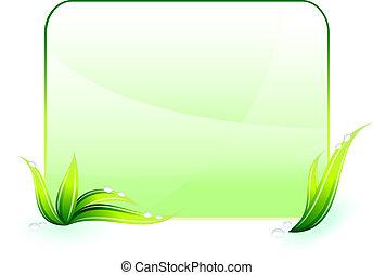 conservación ambiental, fondo verde