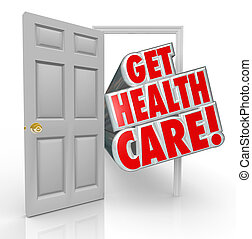 Consigue seguro de salud abierta
