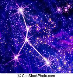 constelación, cáncer