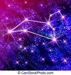 constelación, leo