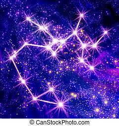 constelación, sagitario