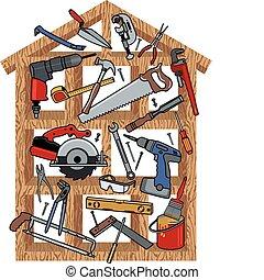 construcción, casa
