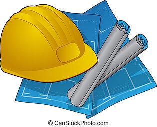 construcción casera, icono