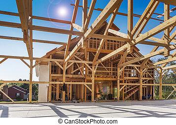 Construcción de nuevas casas