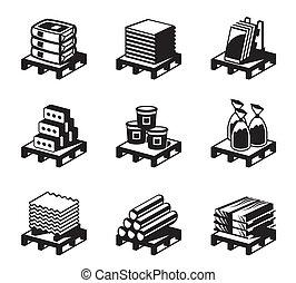 construcción edificio, materiales