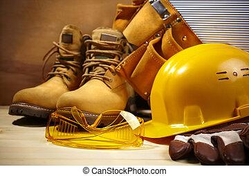 construcción, seguridad