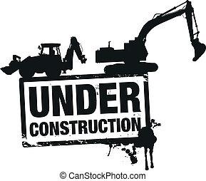construcción, sitio web