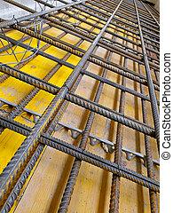 construcción, solar