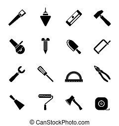 Construcción y iconos de construcción