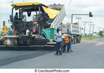 Construcciones de pavimentos
