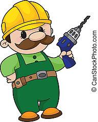 constructor, taladro