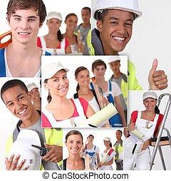 Construir profesionales