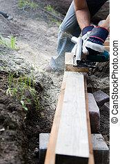 Construir un patio